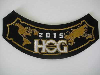 Hog 2015 Harley Owners Group Hog Patch  (Free S/h) (Check Out My Other Auctions)