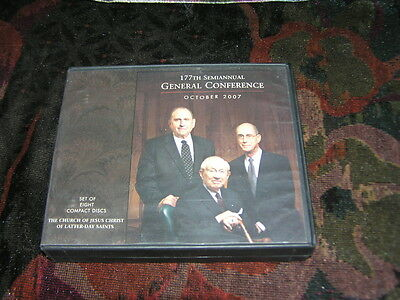 LDS 177th Semiannual General Conference october 2007 10 CDS Mormons