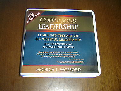 Contagious Leadership Monica Wofford 6 Cds Audiobook