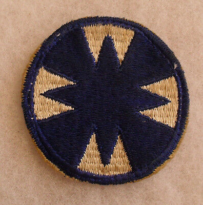Wwii Ghost 48Th Division Cut Edge