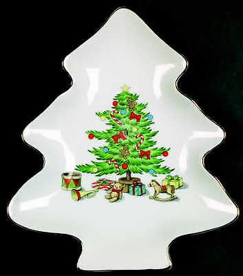Tienshan HOLIDAY HOSTESS Tree Shaped Dish 891389