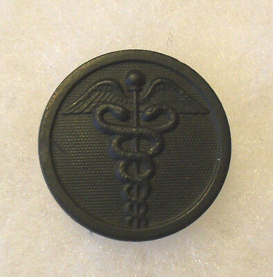 Great Wwi Em Disc Medical Corps Bzi In Beautiful Condition Screw Back
