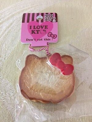 Sanrio Hello Kitty Rusk Plain Toast With Ball And Chain New In Package