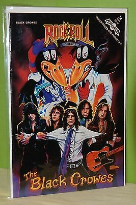 THE BLACK CROWES: Rock N Roll Comics #34 (REVOLUTIONARY, 1991)
