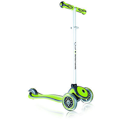 GLOBBER SCOOTER My FREE UP 3 Wheel Adjustable Height Scooter GREEN 3+ 50 kg Max