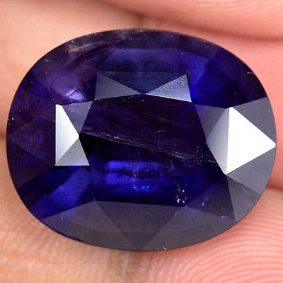 GENUINE 17.80ct NATURAL100% UNHEATED OVAL IOLITE FACETTED
