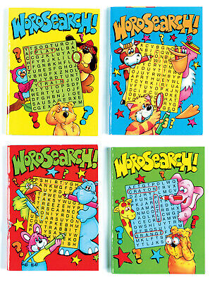 24 x A6 PARTY BAG FAVOUR SIZE 64 PAGE CHILDRENS KIDS WORD SEARCH BOOKS 2095
