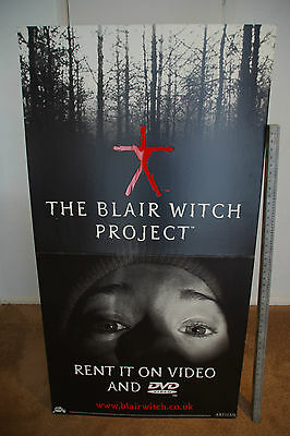 THE BLAIR WITCH PROJECT 150cm x 80cm CARDBOARD STAND halloween Orignal POSTER