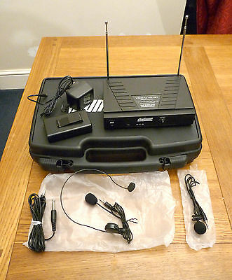 Prosound wireless tie clip / headset conference microphone system