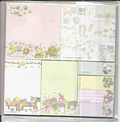 Sanrio Characters Sticky Notes Tabs From Japan Book of Sticky Notes Folder