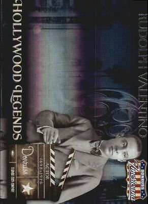 2007 Americana Hollywood Legends #39 Rudolph Valentino /500
