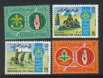 IRAQ 1967 BOY SCOUTS Girl Scouts TENTS