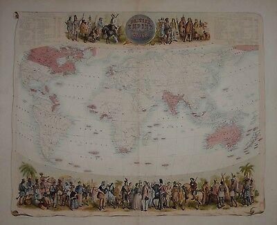 The British Empire Throughout The World By Archibald Fullarton. 1874.