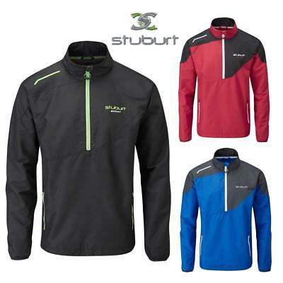 Stuburt Cyclone Half Zip Windshirt, Thermal and Windproof Wind Shirt for Golf
