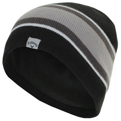 Callaway Golf 2017 Mens Winter Chill Beanie Fleece Lined Thermal Hat