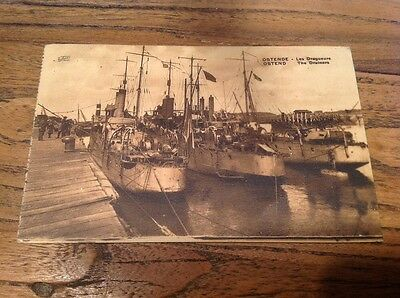 Old Postcard OSTEND THE DRAINERS