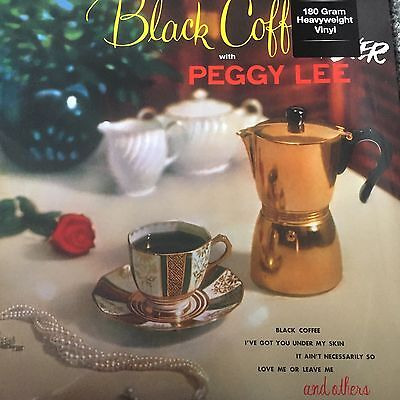 PEGGY LEE - Black Coffee And Fever - NEW 2017 LP VINYL - FACTORY SEALED