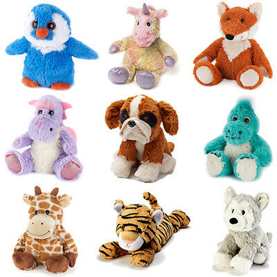 Intelex Warmies Cozy Heatable Plush Soft Toy Microwaveable Cosy Plush Animals