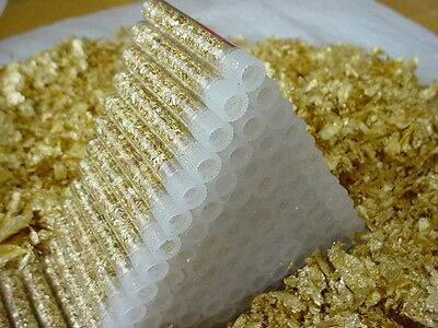 16 Gold Flake Vials... Lowest Price on Ebay !!