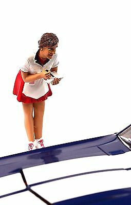 Grace Carhop Drive Thru Waitress Figure American Diorama 23864 1:18 Taking Order
