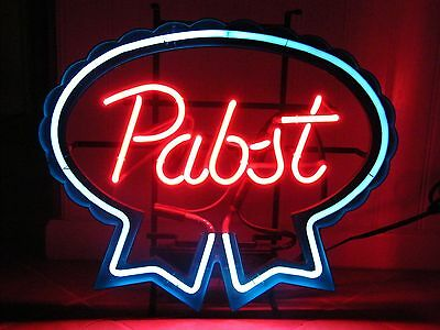 "Vintage "" Pabst "" Brewing Co. Neon Beer Sign, Milwaukee, See Description"