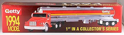 Getty Gasoline Toy Tanker Truck 1994 First In Series New In Sealed Box