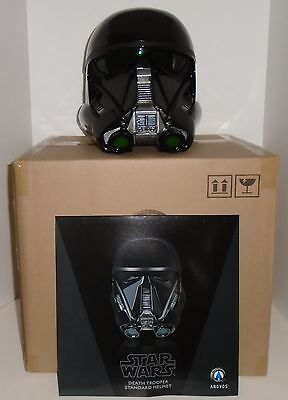"""STAR WARS """"DEATH TROOPER"""" Helmet Rogue One Anovos 1:1 scale NEW in factory box"""
