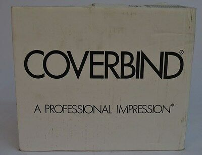 """NEW Lot 130 Coverbind Classic Olympic Blue Marbled Thermal Binding Covers 1/8"""""""