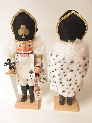 German Nutcracker Collectible Limited Edition Signed King of Clubs Ulbricht