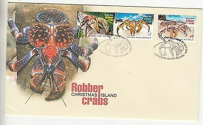 2016 Robber Crabs set. First day cover. Going very cheap. Scarce cover