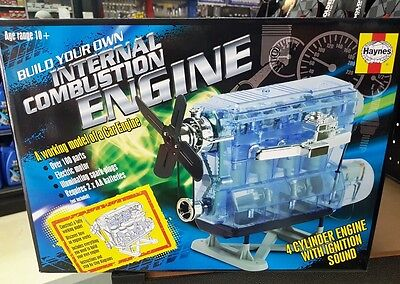 Haynes Build Your Own 4 Cylinder Combustion Engine