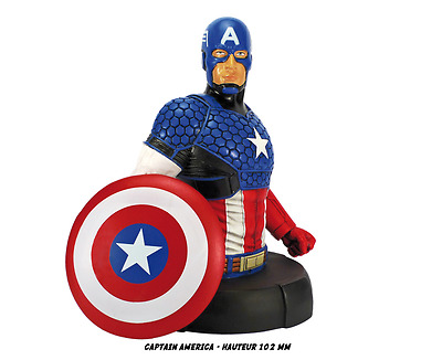 Bust  Captain America  New & box 11 cm Marvel  Figurine collectible