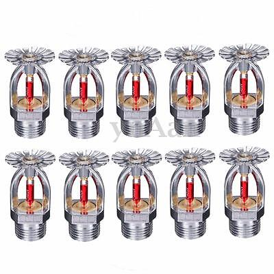 10X ZSTX-15 Pendent Fire Sprinkler Head 68℃ Fire Extinguishing System Protection