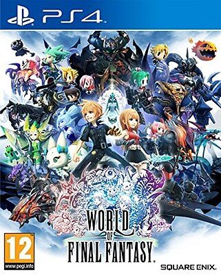World of Final Fantasy (PS4) [New Game]