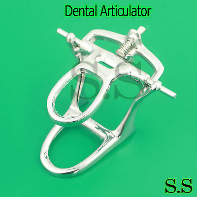 High Arch Chrome Articulator Dental Lab Pkg. of 5