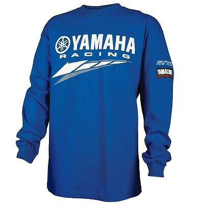 Yamaha Racing Special Edition L/S T-Shirt in Yamaha Blue - Size - X-Large - New