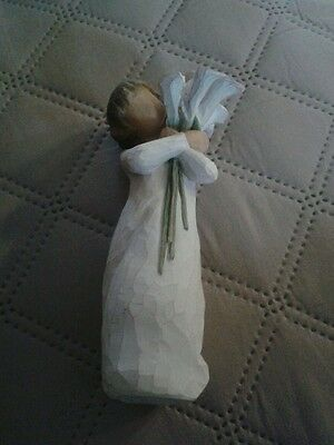 New  but unboxed Willow Tree Figurine BEAUTIFUL WISHES