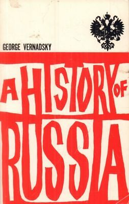 A History Of Russia(Paperback Book)George Vernadsky-US--1969--Good