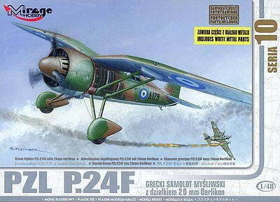 MIRAGE HOBBY® 48107 PZL P.24F Greek Air Force in 1:48