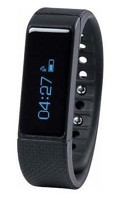 Nuband I Touch Activity and Sleep Tracker Black with Pulse and pedometer