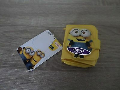 Claires Minions Purse Bnwt Girls Gift Present