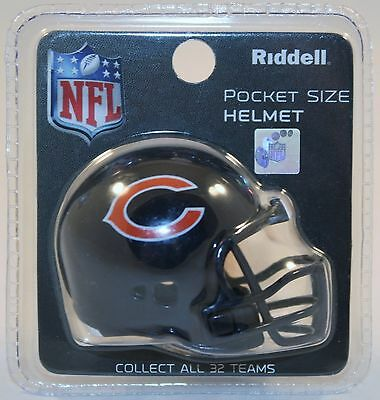 NFL American Football Riddell Pocket Revolution Helmet CHICAGO BEARS