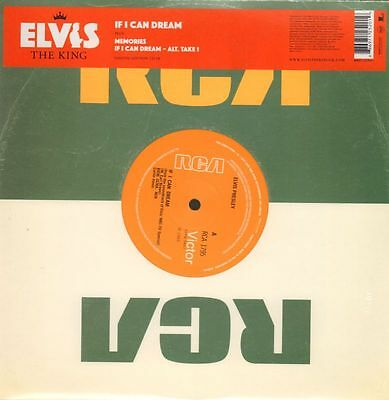 "Elvis Presley(Ltd. Ed 10"" Vinyl)If I Can Dream 12/18-RCA-RCA 1795-EU-20-M/M"