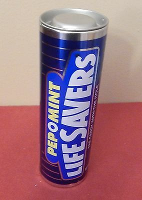 """PEPOMINT LIFESAVER TIN 7"""" (candy not included)"""