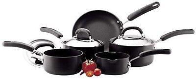 Circulon 2 Hard Anodised Cookware Set, 5-Piece - Black ( INDUCTION COMPATIBLE )