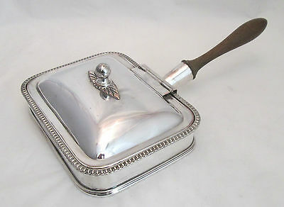 An Old Sheffield Plated Chaffing Dish / Warming Dish - c1780