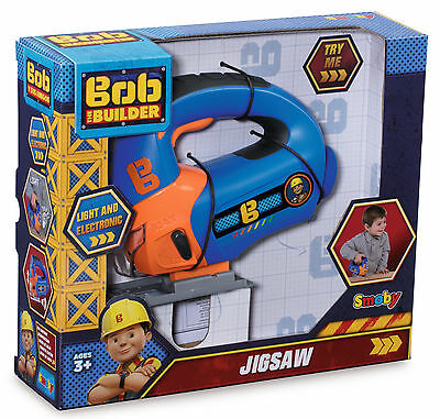 360131 Bob the Builder Jigsaw DIY Tool Electronic with Lights Boys Toy Kids 3+