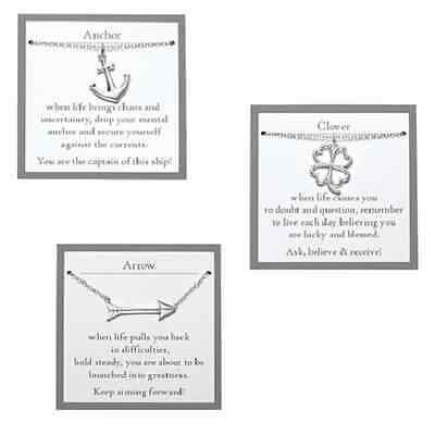 New! Sterling Silver Open-Work 4 Leaf Clover Celtic Necklace W/meaning Card Avon