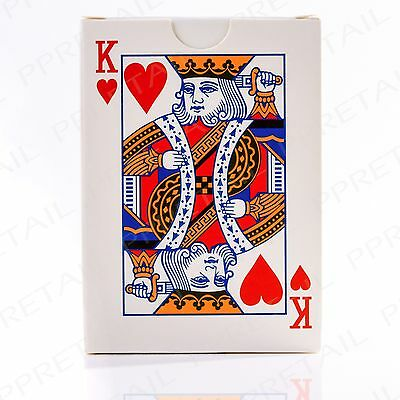 Full Deck EASY TO READ Jumbo Index Playing Cards Casino Poker Party Game Classic