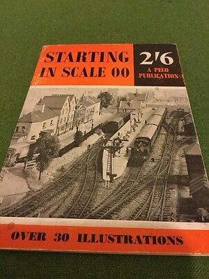 Booklet Starting In O O Scale
